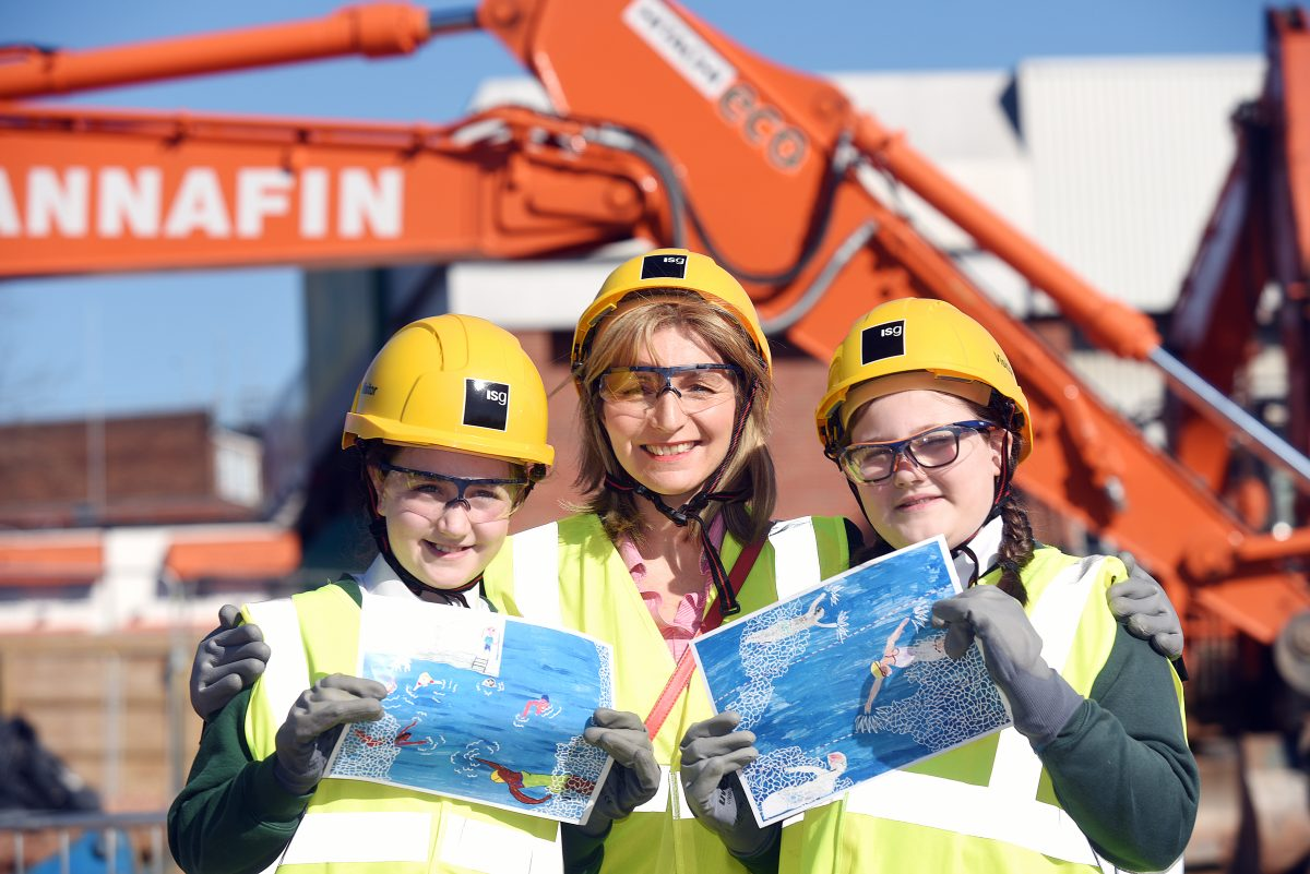 Construction work begins on new northfield leisure centre - Northfield swimming pool timetable ...