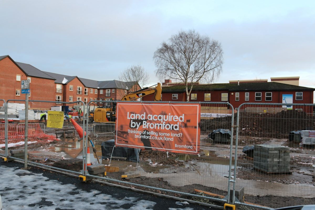 Work Under Way To Transform Former Bromsgrove Job Centre