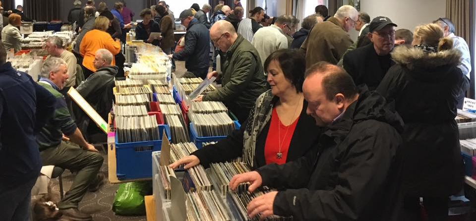 Latest Bromsgrove Vinyl Record Fair Takes Place This