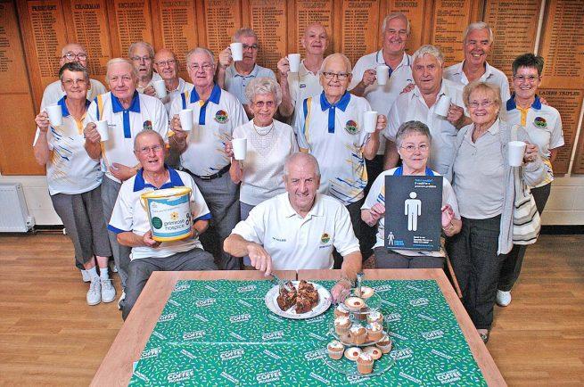 Macmillan Coffee Morning to be held at Bromsgrove Indoor Bowling Club