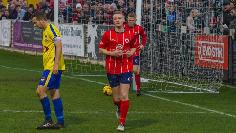 Cameron Peters 'Excited' as He Rejoins Bromsgrove Sporting on Loan