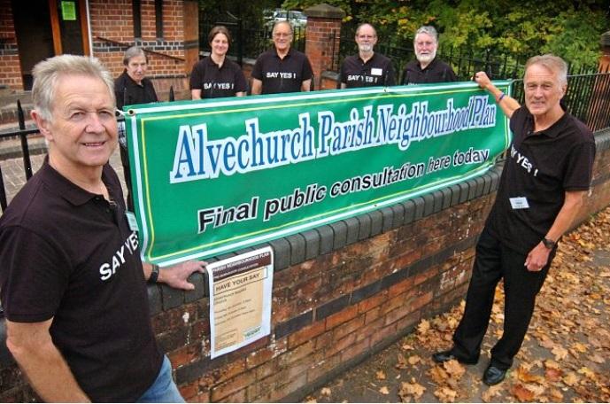Residents give Alvechurch Neighbourhood Plan a ringing endorsement