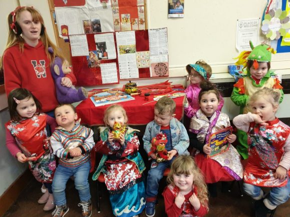 Children in Bromsgrove and Rubery celebrated Chinese New Year with a host of activities