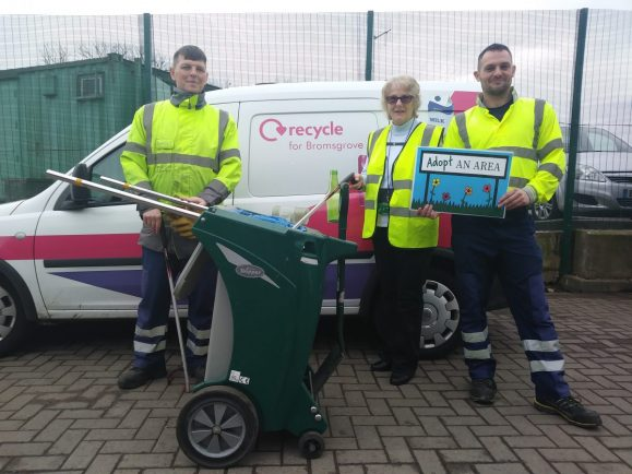 Bromsgrove residents urged to 'Adopt their Area' as part of the Great British Spring Clean