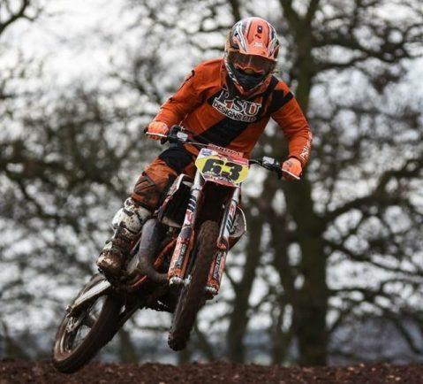 Bromsgrove rider takes British Motocross by storm