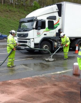 Delays on the M5 near Bromsgrove after oil spillage