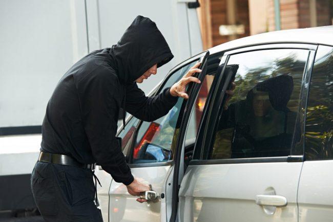 Cash stolen from vehicle in Hagley