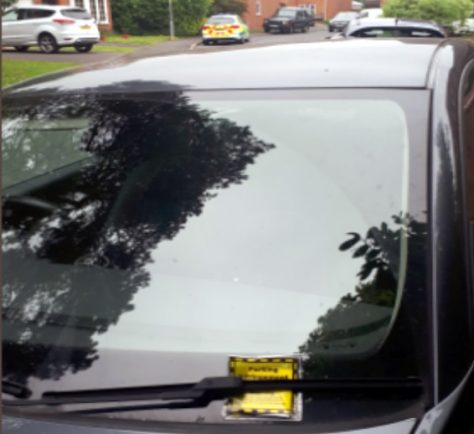 Bromsgrove Police hope ticketing will make drivers think twice about parking on pavements