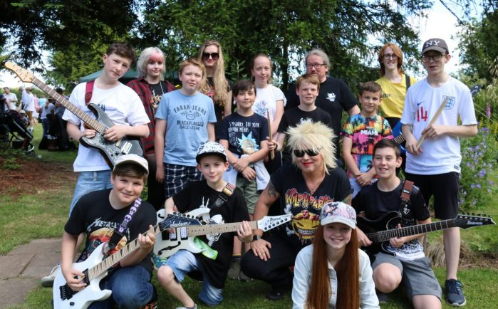 Bromsgrove Rock School to take to the stage in Stoke Prior tomorrow