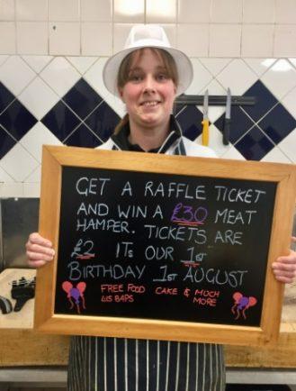 Bromsgrove's Butcher's Block raises £360 for good causes