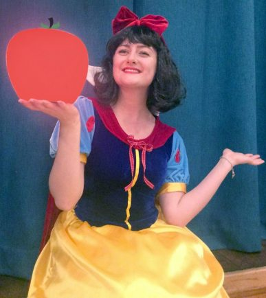 Bromsgrove Artrix's Snow White says playing a princess 'is every little girl's dream'