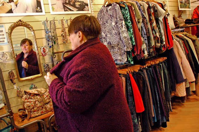 Bromsgrove's charity shops boosted by 'sustainable fashion'
